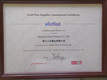 alibaba verified supplier of plastic manufacturer