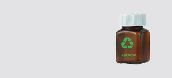 amber pill bottle