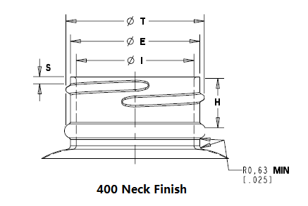 plastic bottle neck finish
