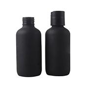 sanding black bottle