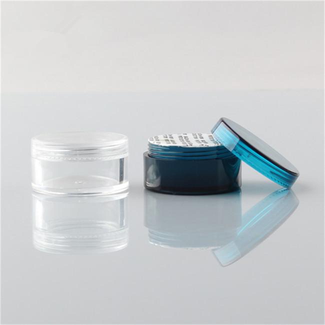 5ml clear sample plastic jar size