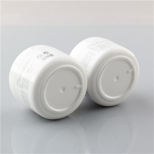 30ml white pp plastic cream jar bottom