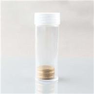 clear coin storage jar
