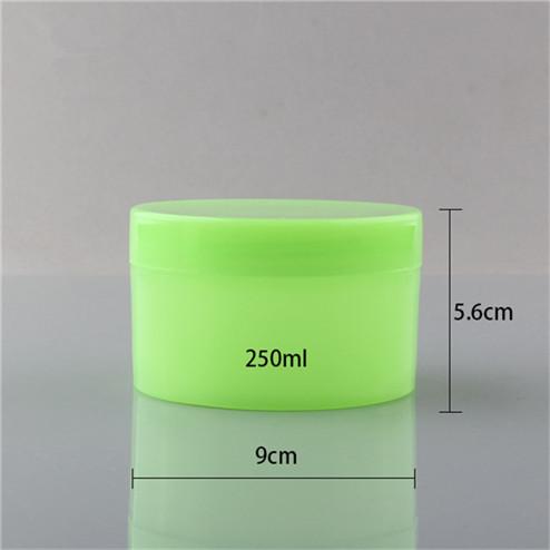 green 200ml pp jar size