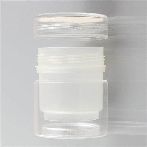 double wall empty cream jar