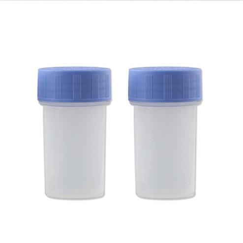 50ml pp translucence medical liquid jar size