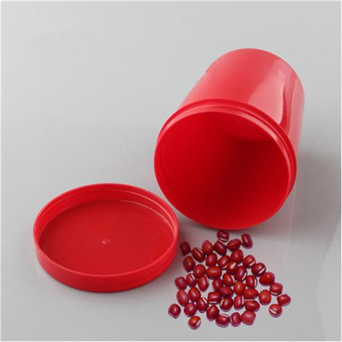 red pp plasti storage jar