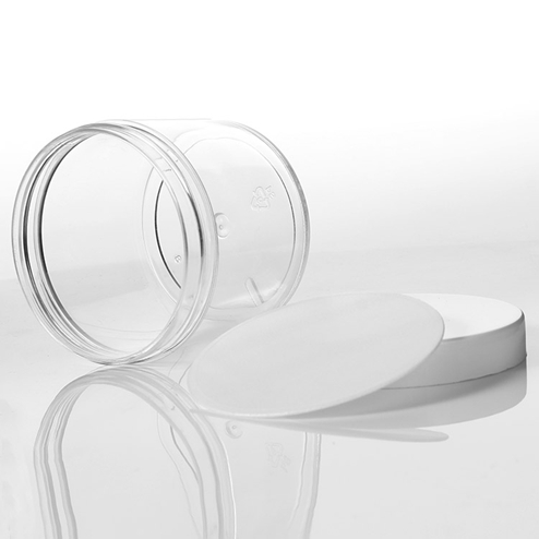 supplier of 150ml PS jar with pad and white lid