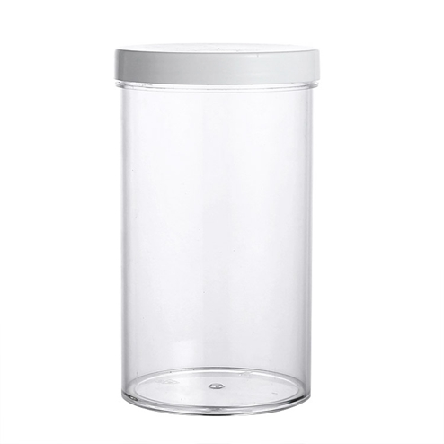 manufacturing 750ml PS jar with PP lid GFA-540