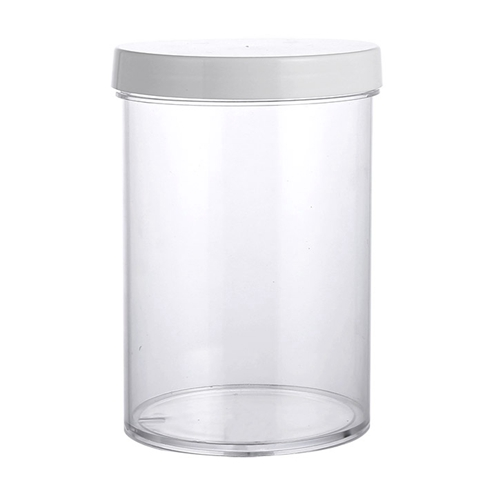500ml PS jar with PP lid