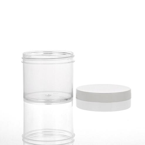 60ml PS jar with PP lid manufacture in China