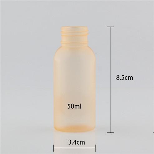 size of 50ml pe bottle 3.4*8.5cm