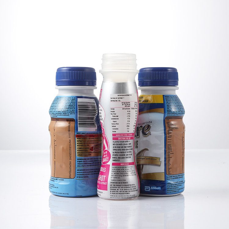 Plastic bottles with shrink sleeve from sanle - a plastic bottle and label manufacturer