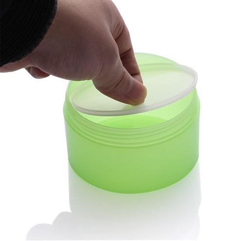 250ml PP Mask Jar With Transparent Pad