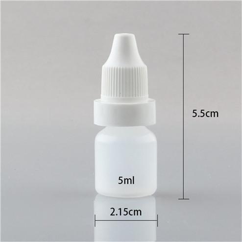 size of 5ml eye dropper bottle