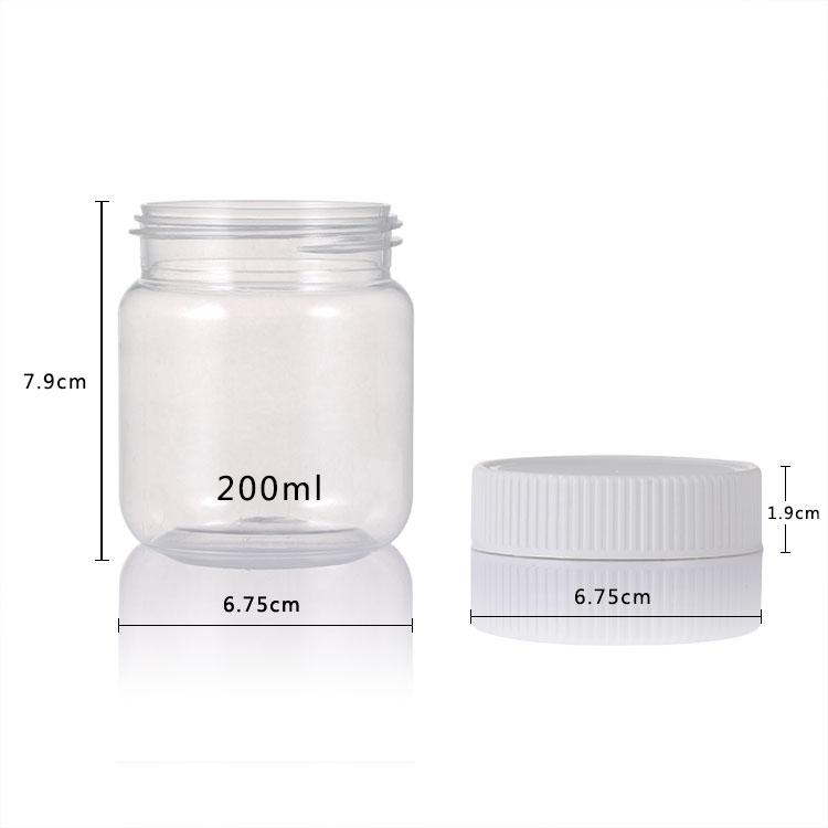 PET Honey Jar size