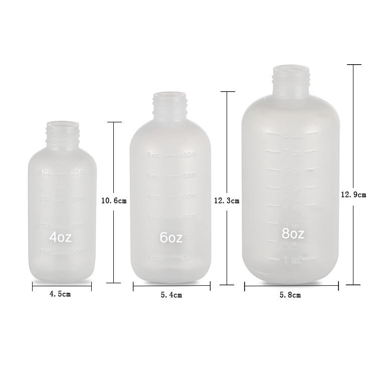 boston round bottle with york cap size