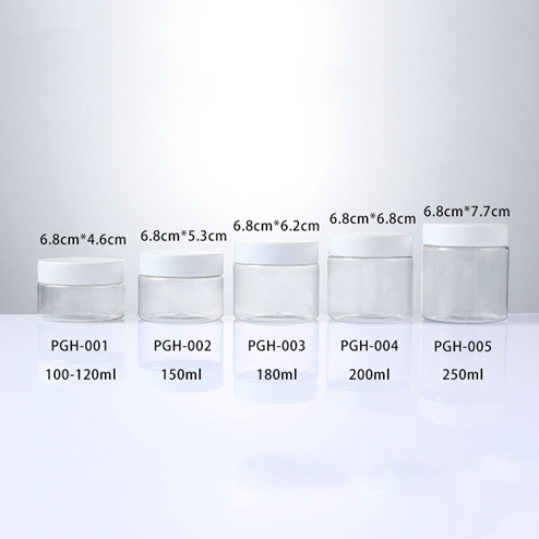 size of group storage jar from 100ml -250ml