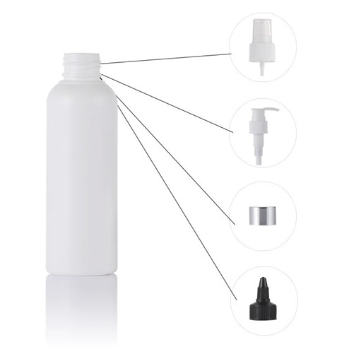 250ml plastic bottle with mist sprayer and other caps