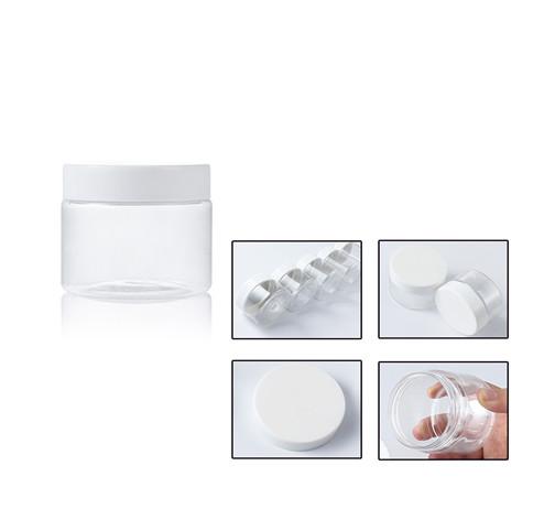 plastic jar with details
