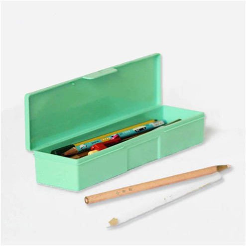 Transparent PP rectangular plastic box for pencil YHF-924