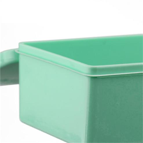 detail of pencil box Transparent PP rectangular plastic box YHF-925