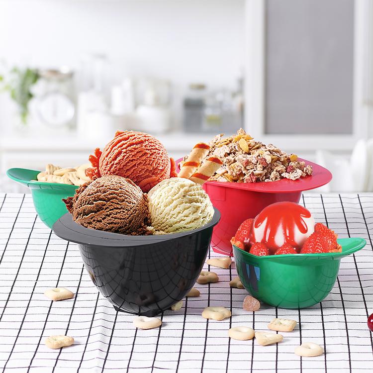 plastic ice cream bowls