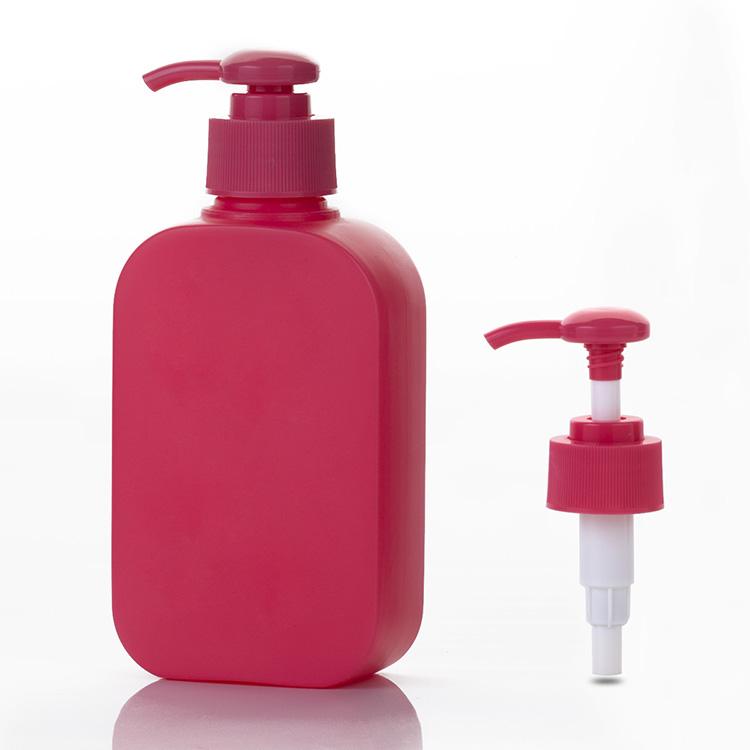 hdpe oblong plastic bottle 250ml