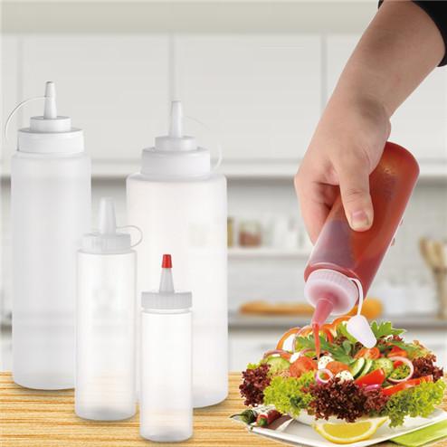 empty sauce bottle in variety volume in bulk for wholesale