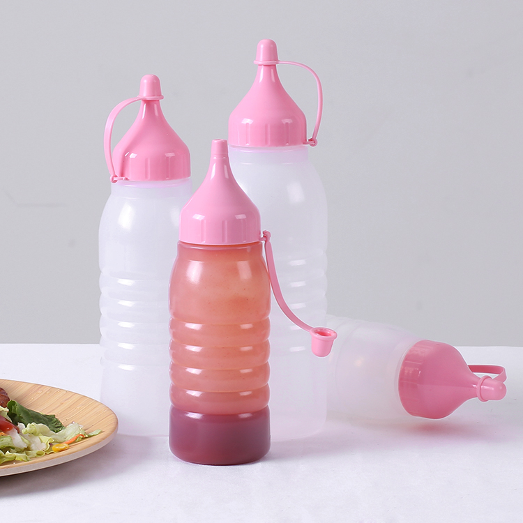 500ml ldpe plastic squeeze bottle with cap