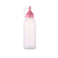 350ml LDPE plastic squeeze bottle with cap for sale