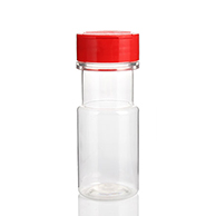 50 ml PET plastic clear spice bottle container