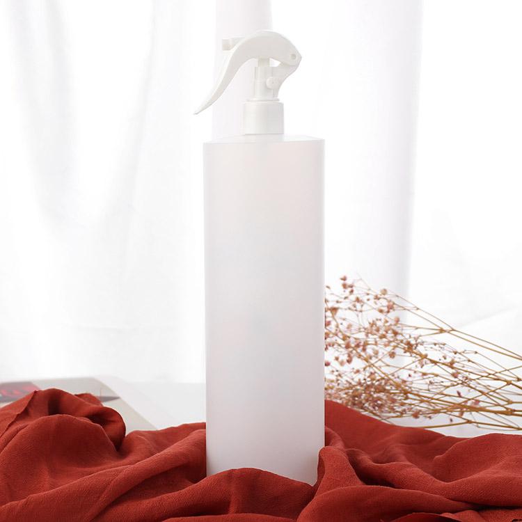 cylinder round triger spray bottle