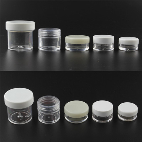 PS jar with PP lid
