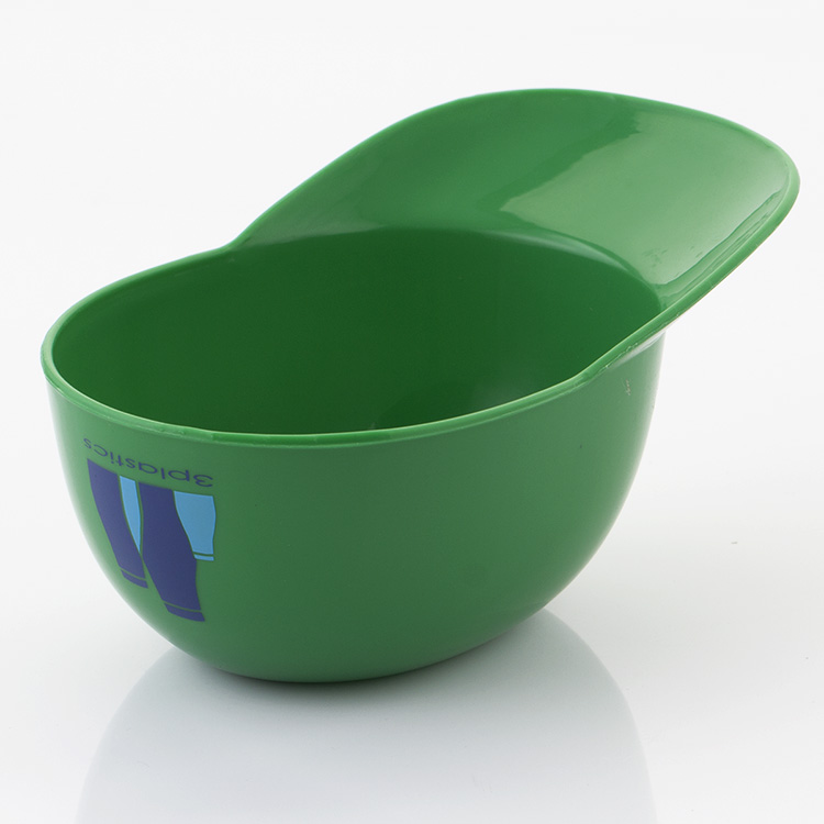plastic basball shape bowls for ice cream