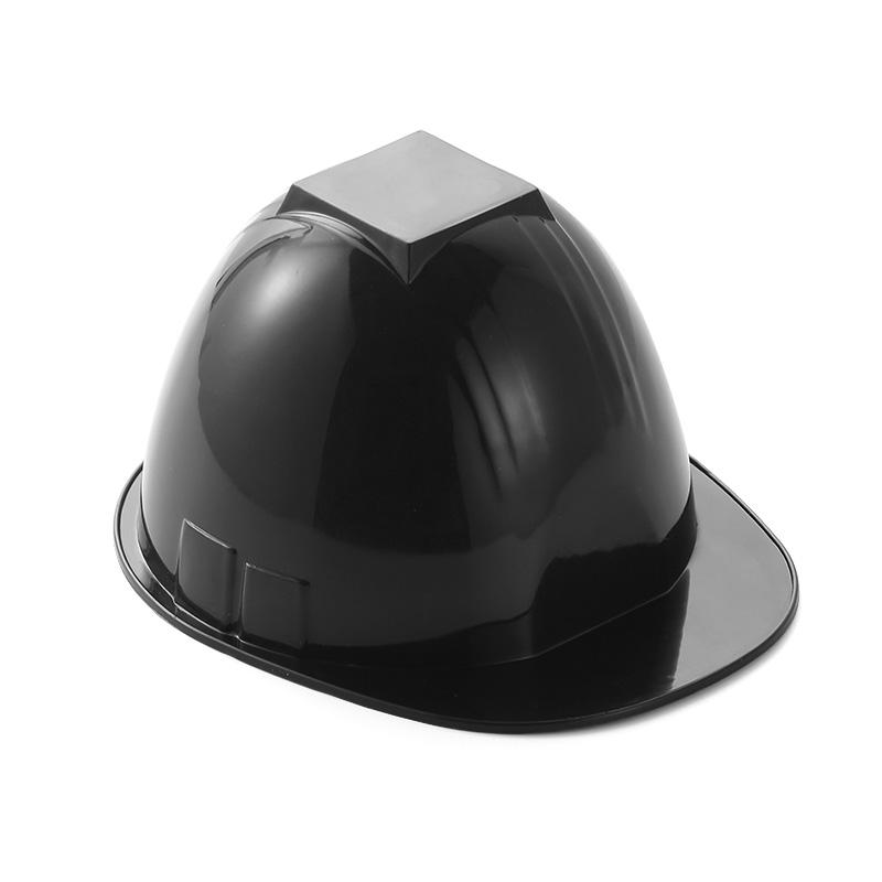 helmet shape plastic ice cream bowl black