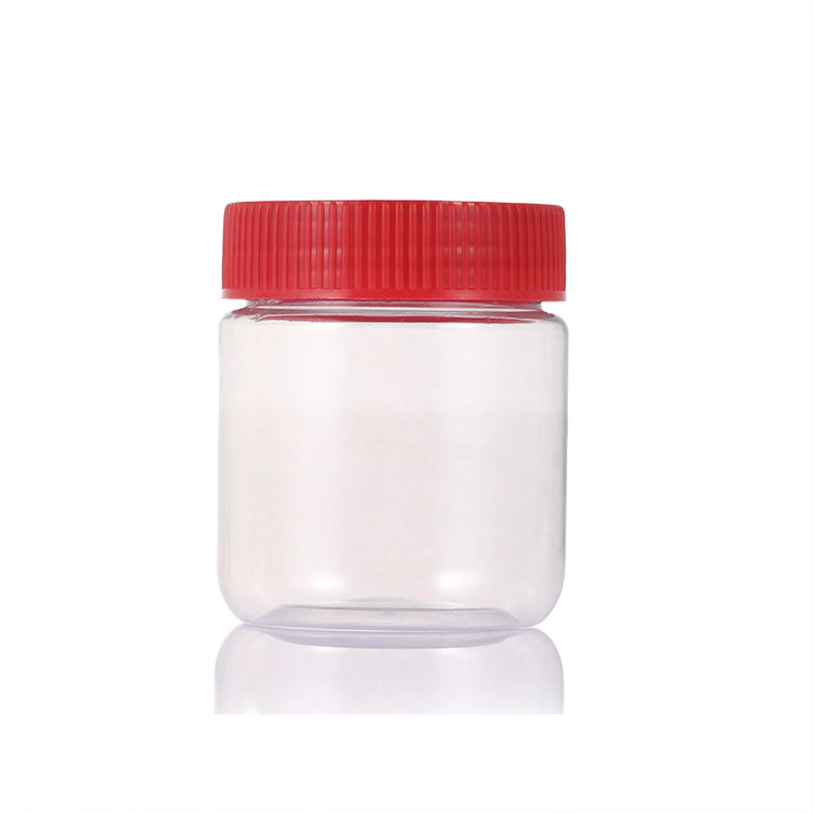 PET clear Jar with lid