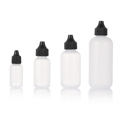 four volume drop bottle in group