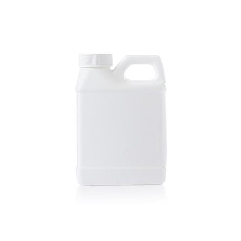 250ml (8.33oz) white HDPE F-style plastic jugs YFA-266