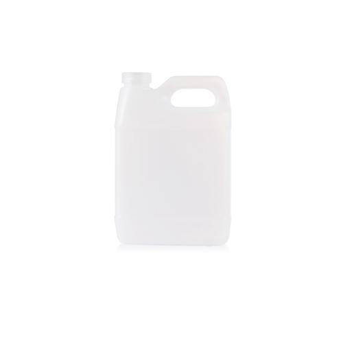 500ml (16.67oz) white HDPE plastic bottle with handle YFA-267