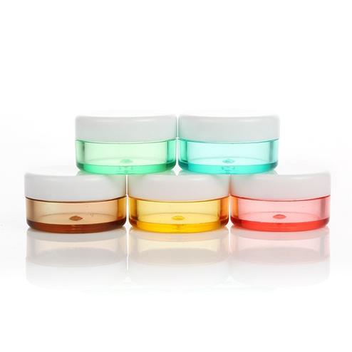 5ml Custom Color Small PS Plastic Jar with Screw Lid GFA-561