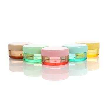 colorful 5ml small plastic sample jar