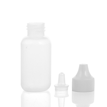 translucense plastic dropper bottle details