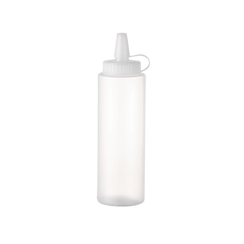 8oz natural colored LDPE plastic sauce bottle JF-170