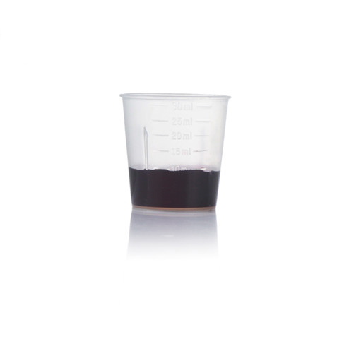 Clear 30ml PP Plastic measuring cup ZFA-703
