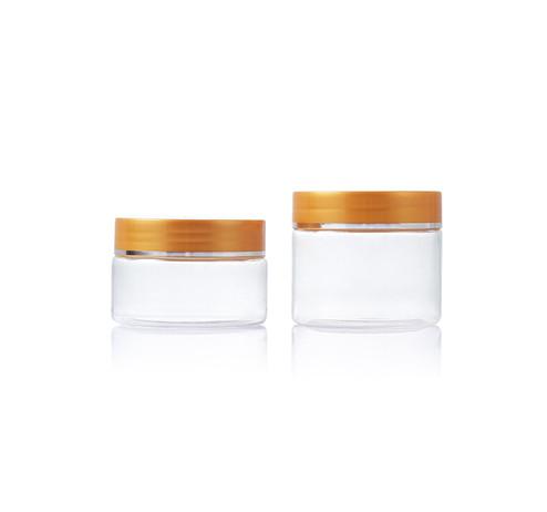 80ML clear PET plastic jar