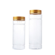 500 and 750ml Clear Pet Plastic Food Grade Jars