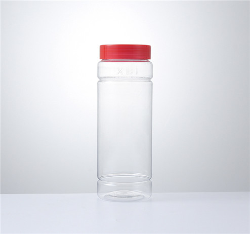 250ml clear pet plastic jars