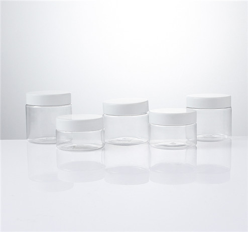 wide mouth PET Clear Jars