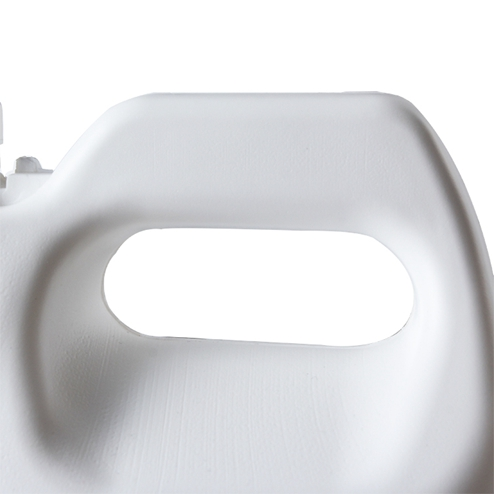handle detail of 1 Gallon HDPE F-style Plastic Jugs YFA-269